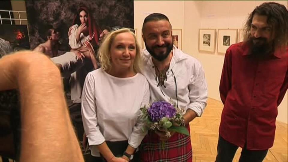 TOP STAR 21.8.2016 - Bára Basiková výstava