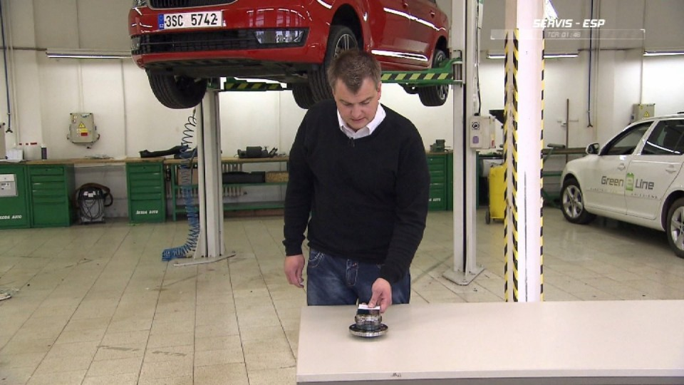 Preventivní servis automobilu - ESP