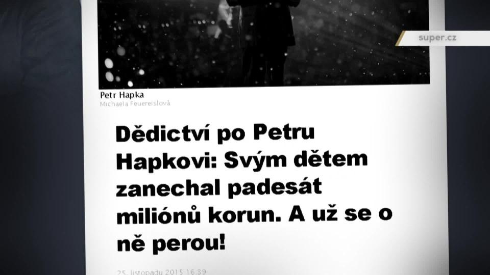 TOP STAR Magazín 2016 (16) - Petra Hapková - dědictví
