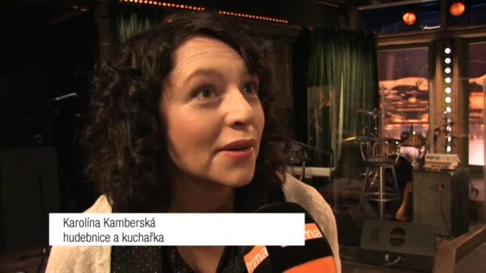 Hudebnice a kuchařka Karolína Kamberská v SJK
