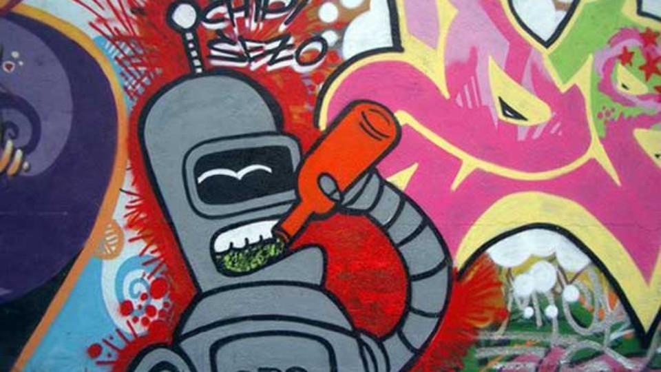 Graffiti umění nebo vandalismus - reportáž