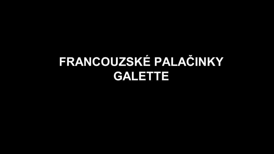 Francouzské palačinky galette