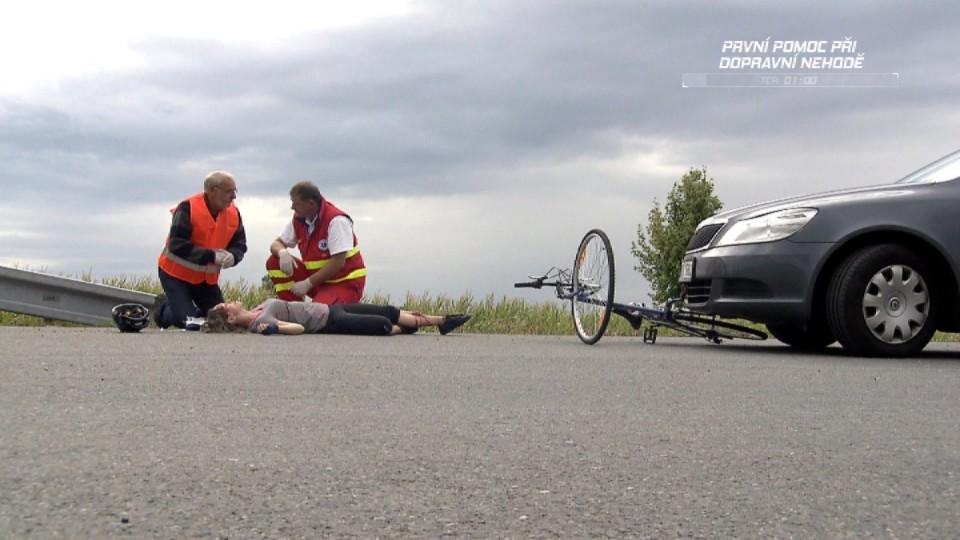 První pomoc při dopravní nehodě