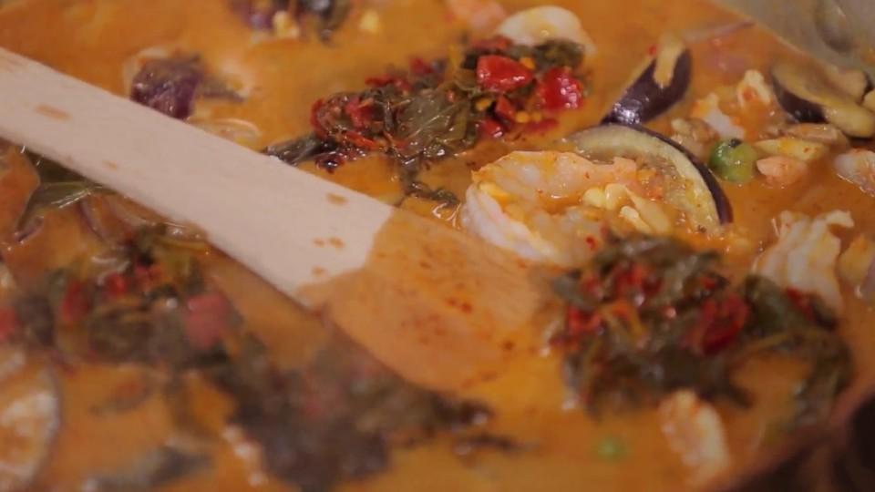 Jardova domácí kuchyně - Thajské červené kari