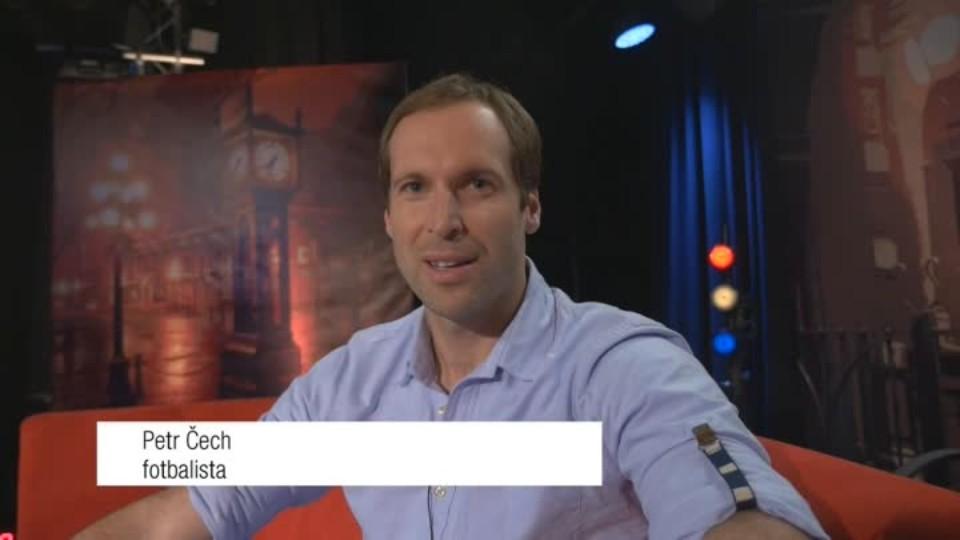 Brankář Petr Čech v SJK