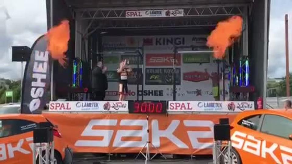 Jan Kareš - Světový rekord ve finsku
