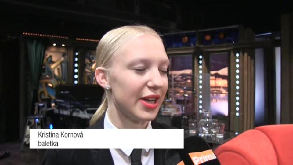 Baletka Kristina Kornová v SJK