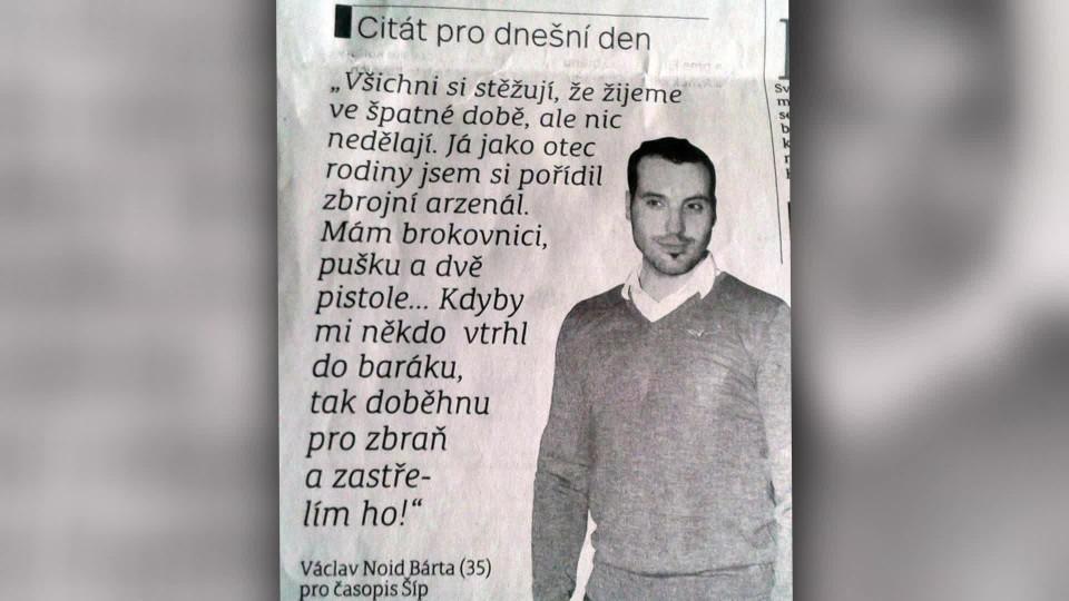 TOP STAR Magazín 2016 (23) - Václav Noid Bárta x Jan Nedvěd