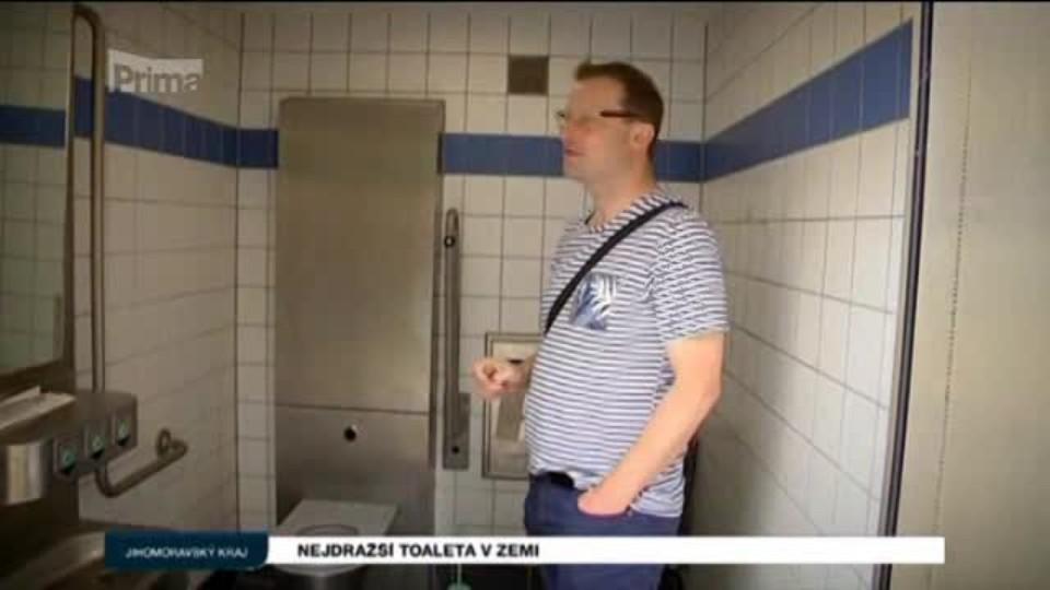 Nejdražší toaleta v zemi