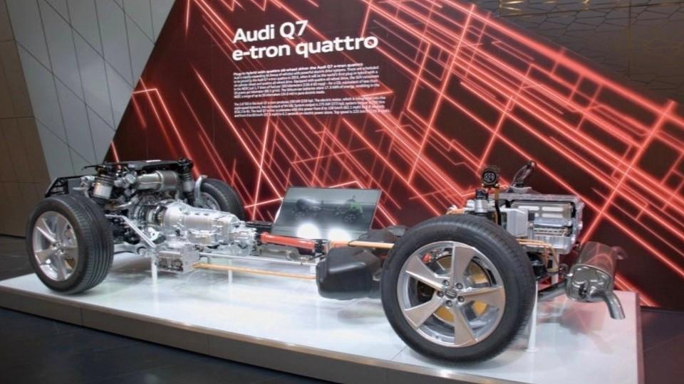 Audi Q7 e-tron quattro concept