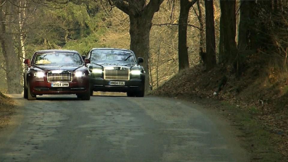 Rolls-Royce Wraith + Rolls-Royce Phantom Coupé II.