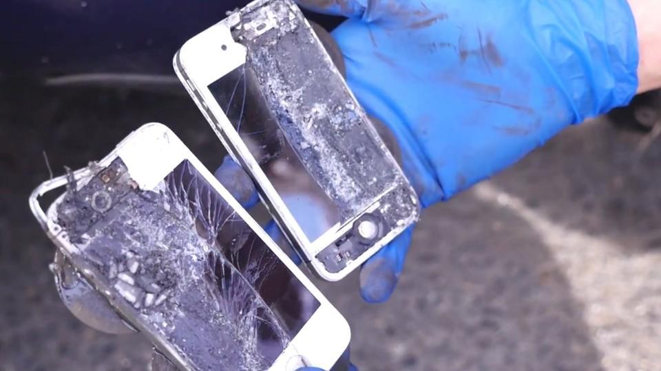 iphone jako brzdová destička pro prosche