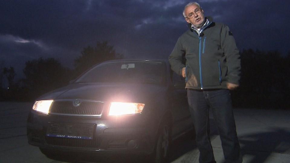 Preventivní servis automobilu - osvětlení vozu II