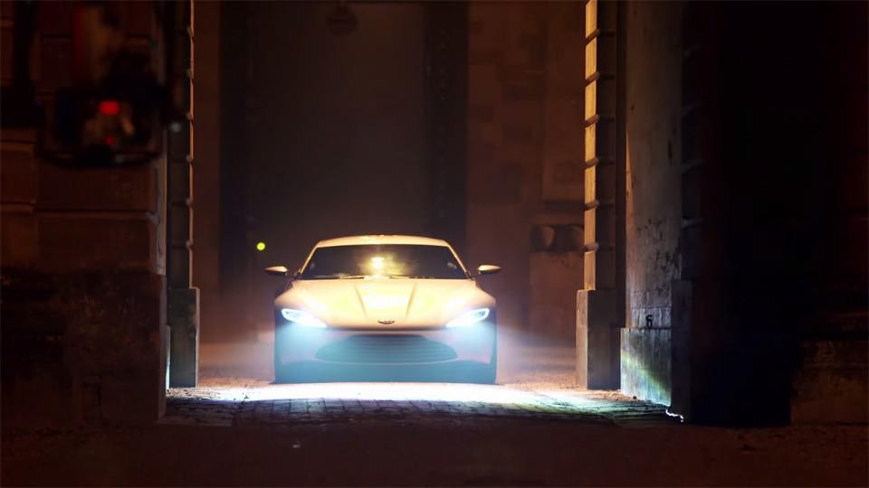Aston Martin DB10: Pohled do zákulisí