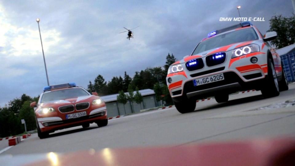 BMW Moto E-Call