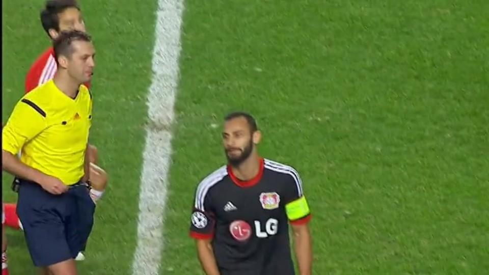 Červená karta - Omer Toprak 91 (09.12.2014)