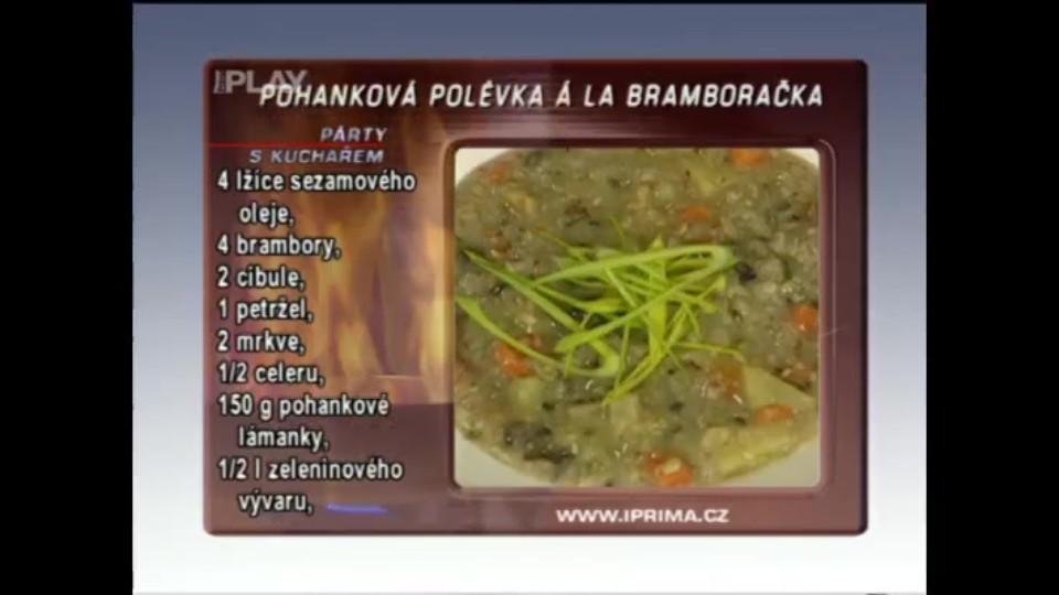 Pohanková polévka á la bramboračka