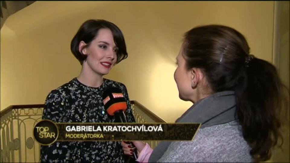 TOP STAR 27.2.2016 - Welness s Gabrielou Kratochvílovou