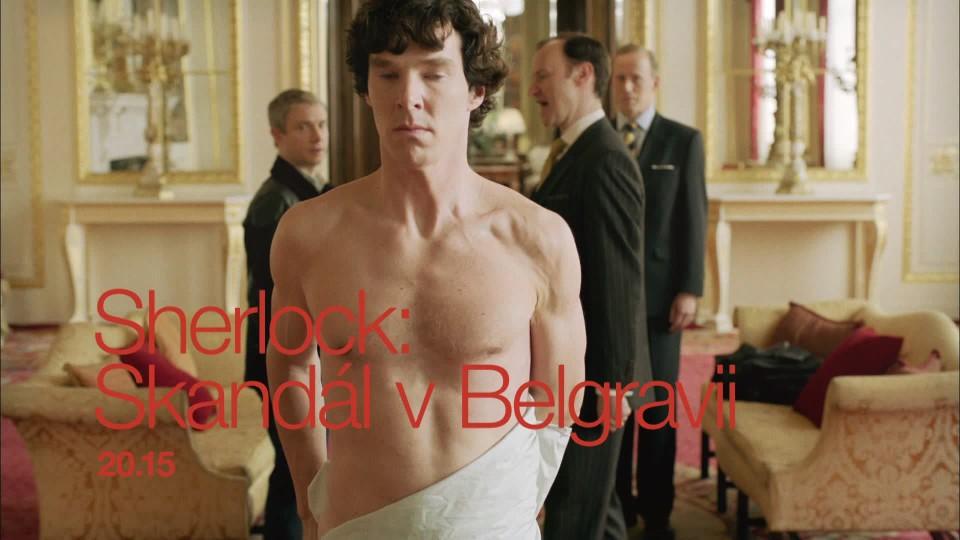 Sherlock: Skandál v Belgravii - upoutávka