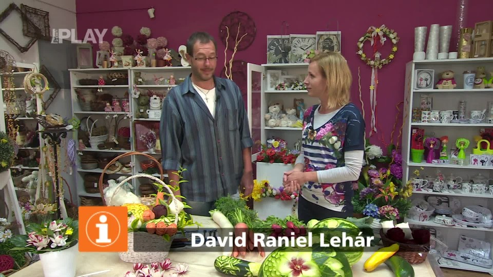 Jak tvořit ozdoby ze zeleniny