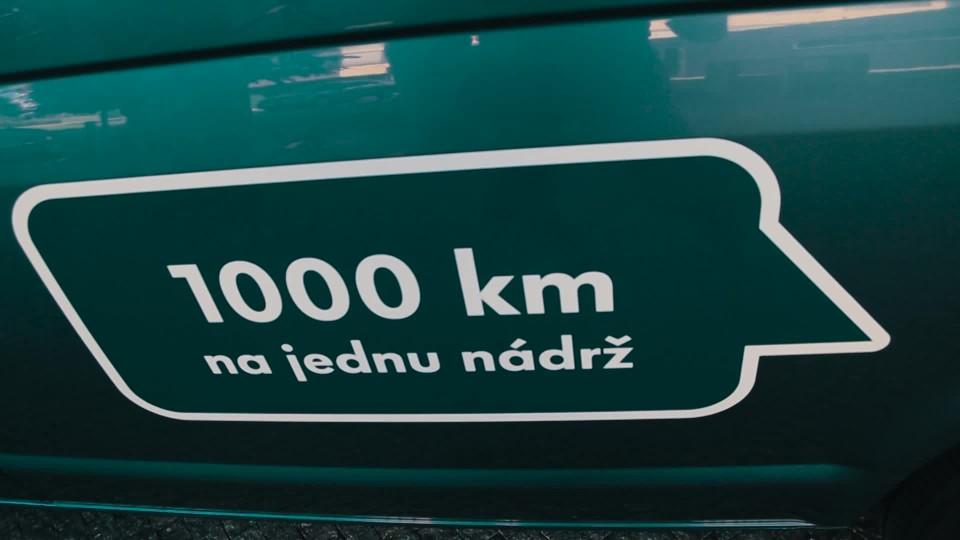 S Transporterem z Prahy do Hannoveru a zpět za 4,91 l/100 km