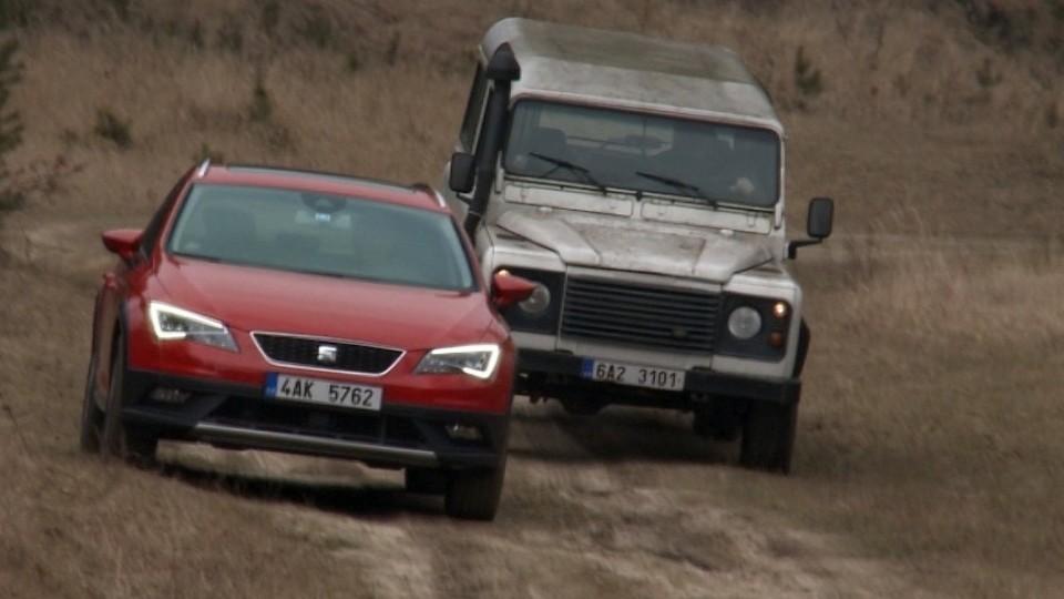 Land Rover Defender vs Seat Leon X-Perience