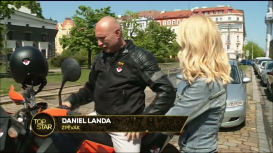 TOP STAR 10.5.2016 - Daniel Landa a diamanty