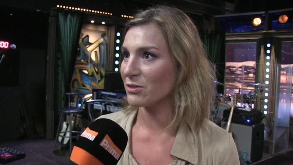 Herečka Lenka Krobotová v SJK