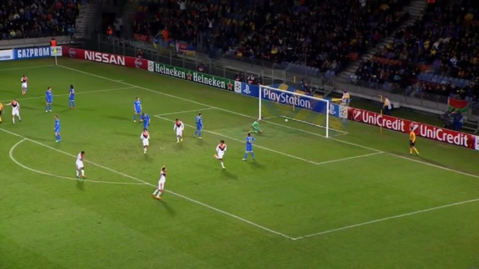 Gól - Luiz Adriano 40 (21.10.2014)