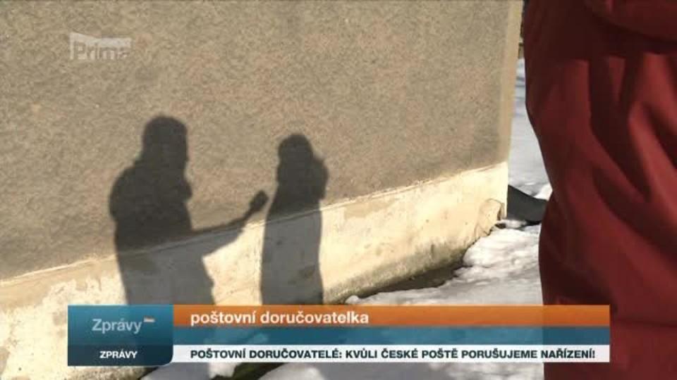Poštovní doručovatelé: Kvůli České poště porušujeme nařízení!