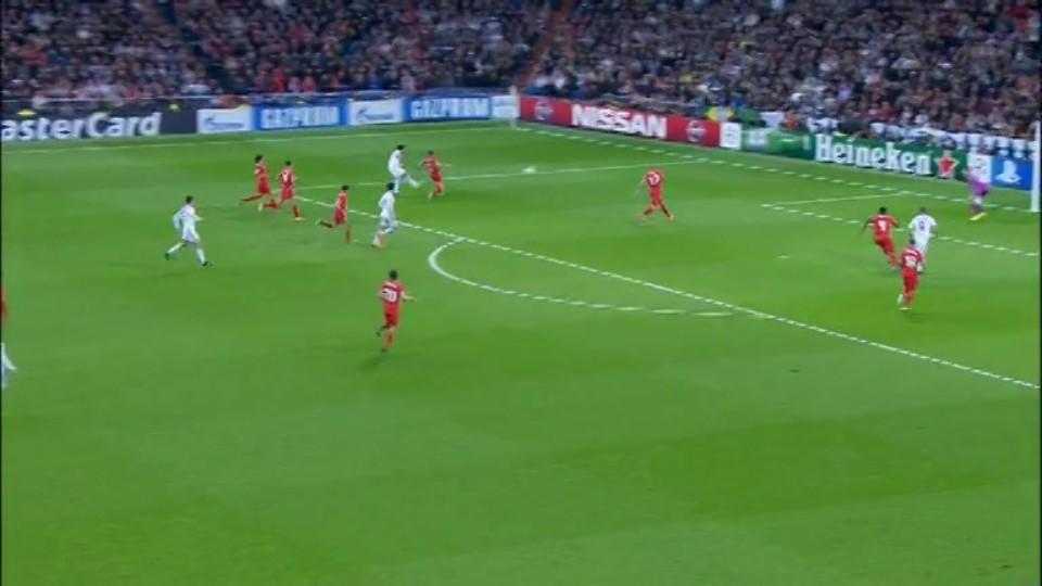 Gól - Benzema 27 (4.11.2014)