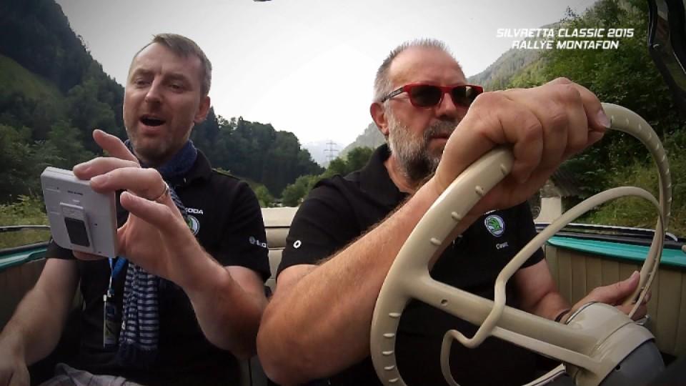 Silvretta Classic 2015 Rallye Montafon II. část