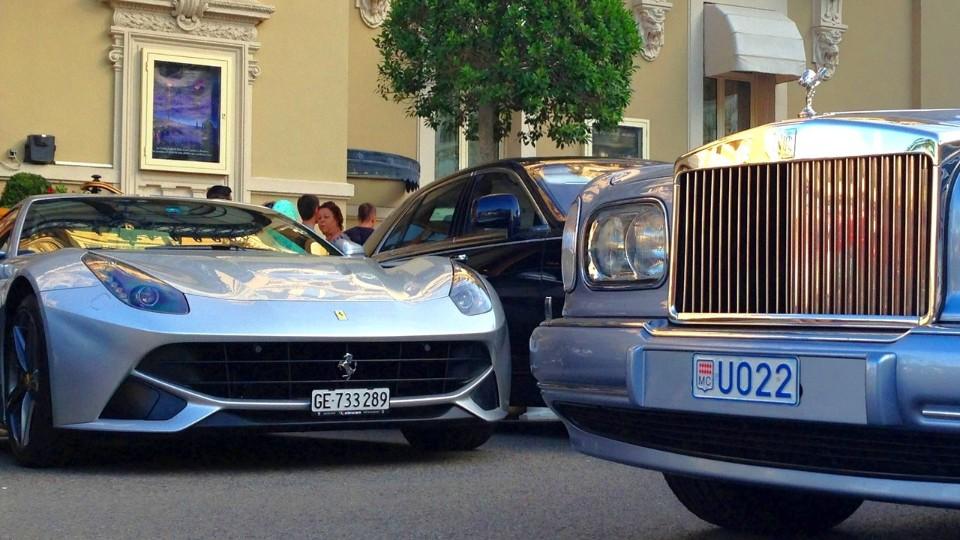 Auta v Monaku