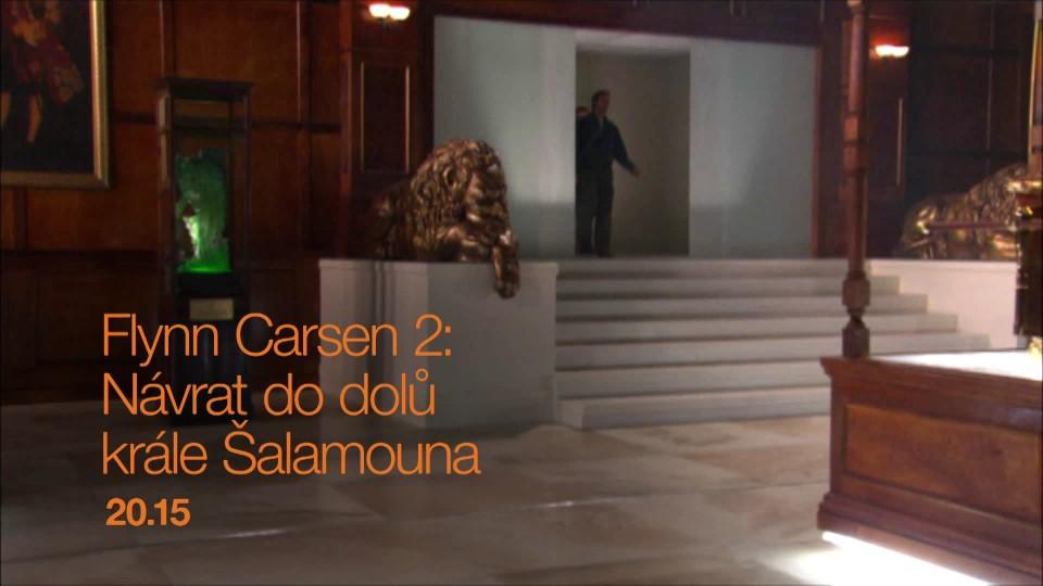Flynn Carsen 2: Návrat do dolů Krále Šalamouna - upoutávka