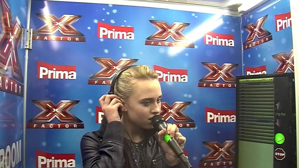 X Factor - Kristyna Jedličková