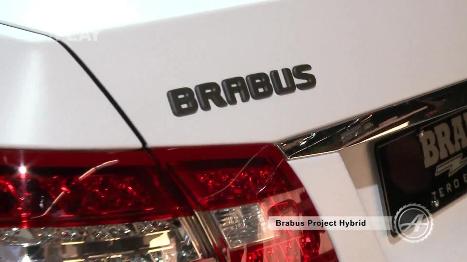Brabus Full Electric + Hybrid