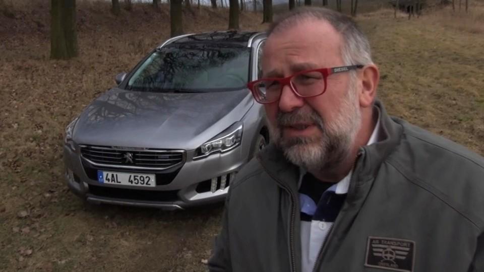 Peugeot 508 RXH - test autosalonu