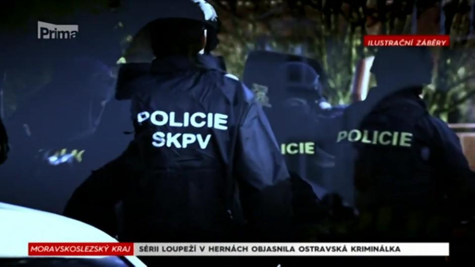 10. 10. 2017 KRIMI: SÉRII LOUPEŽÍ V HERNÁCH OBJASNILA OSTRAVSKÁ KRIMINÁLKA