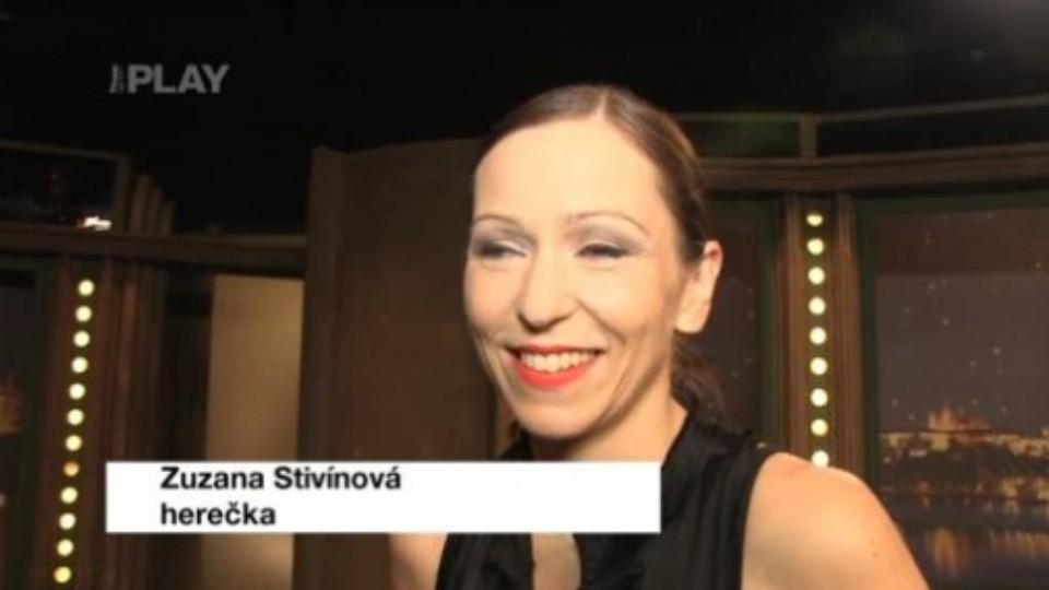 Zuzana Stivínová - rozhovor 30.8.2013