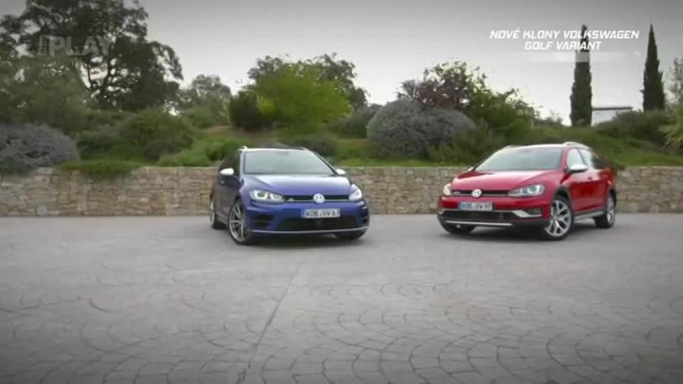 Volkswagen Golf Alltrack, Golf R Variant, Golf GTD Variant