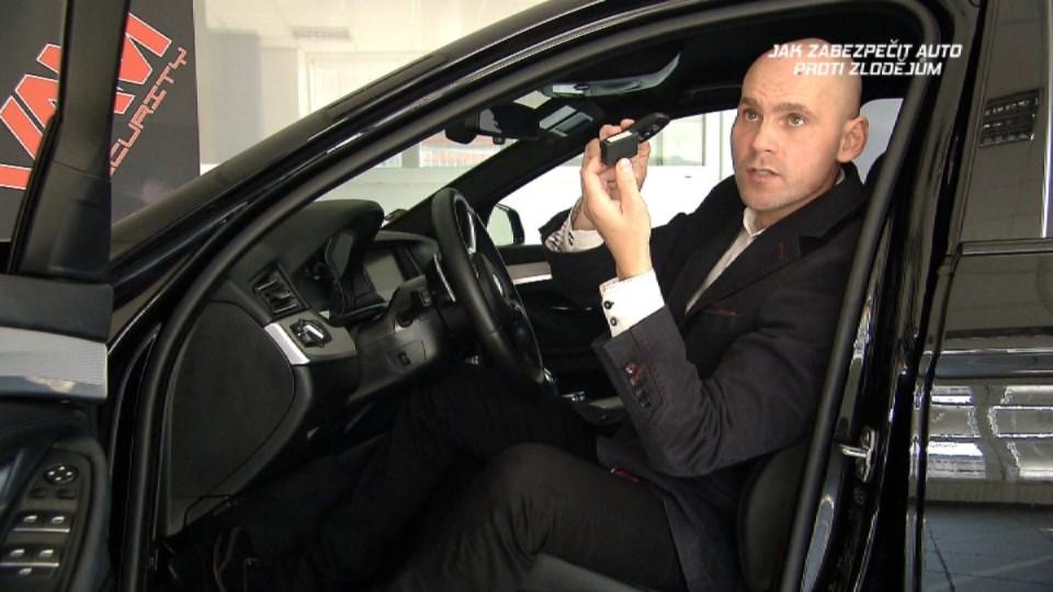 Jak zabezpečit auto proti zlodějům
