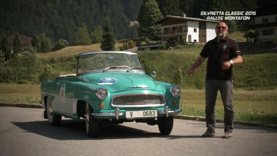 Silvretta Classic 2015 Rallye Montafon I. část
