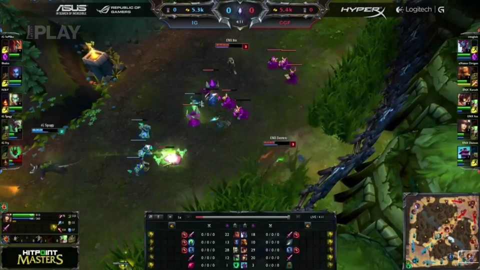 LoL - Hitpoint Masters: Inside Games vs Cyborg Factory, 10.kolo