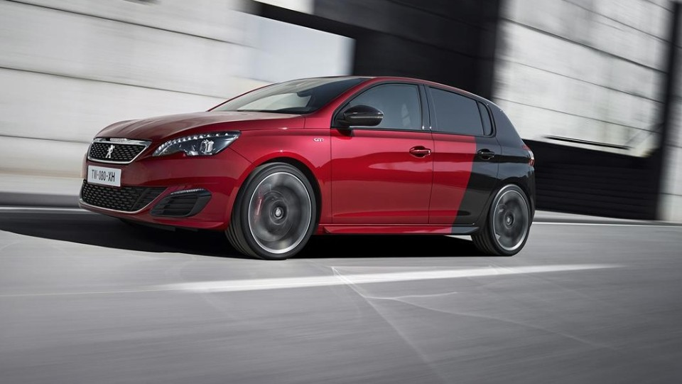 Peogeot 308  GTi Push to Ready