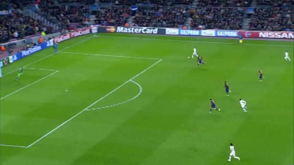 Sestřih zápasu - Barcelona v Paris (10.12.2014)