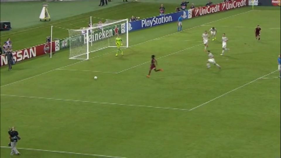 Sestřih zápasu - AS Řím vs CSKA Moskva (17.9.2014)