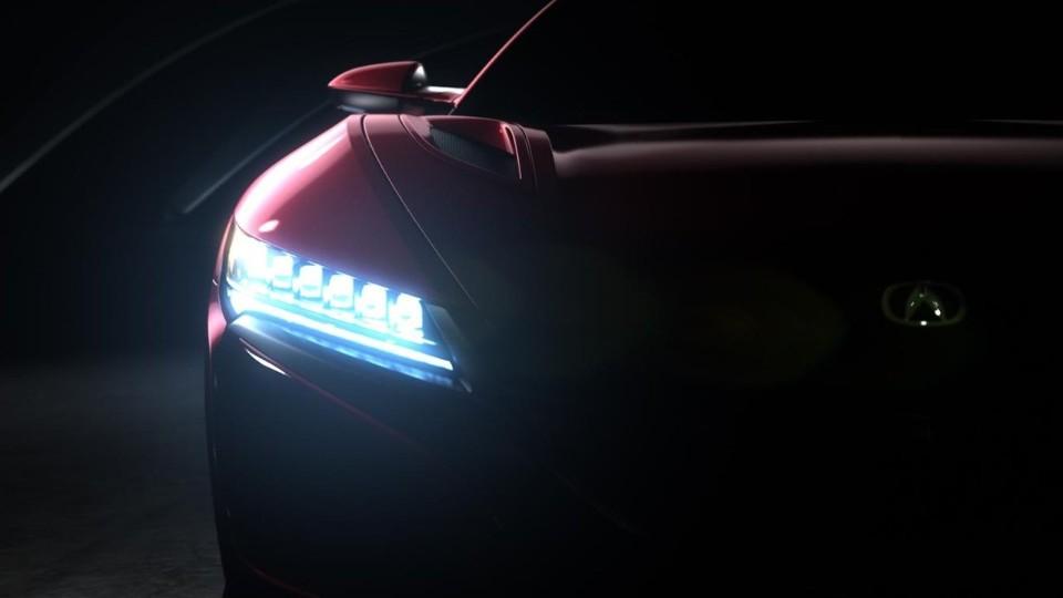 Honda NSX teaser