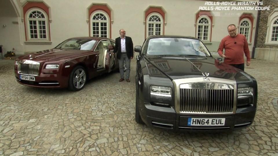 Rolls-Royce Wraith + Rolls-Royce Phantom Coupé I.