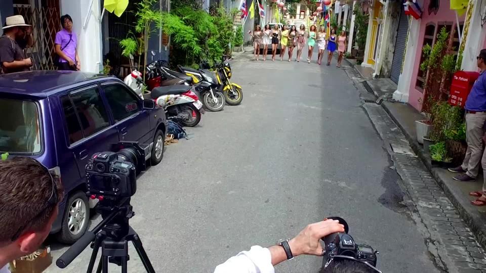 Finalistky České Miss 2016 - Vzpomínky na Thajsko, Phuket