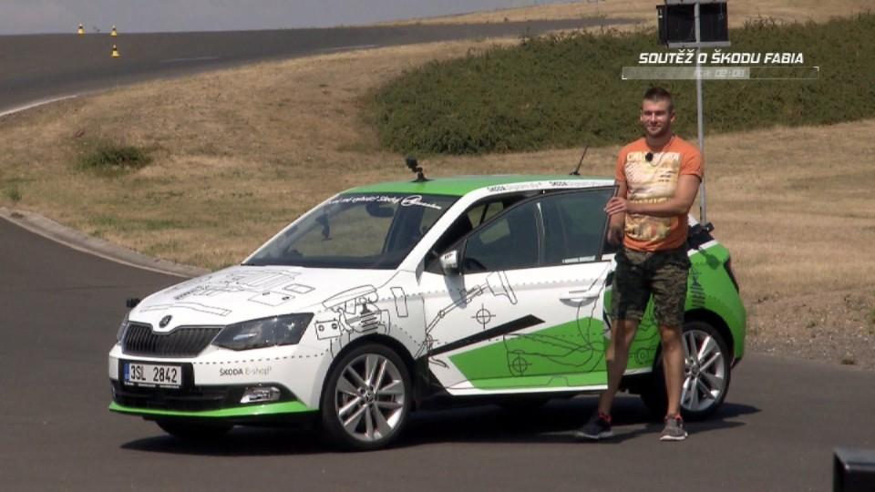 Soutěž o Škoda Fabia dvanáctý týden II. část